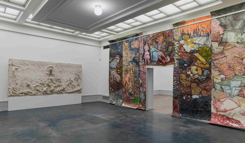 Vanessa Baird. I don't want to be anywhere, but here I am, 2015. Installation view (2). Photograph: TKM/Anders Solberg.