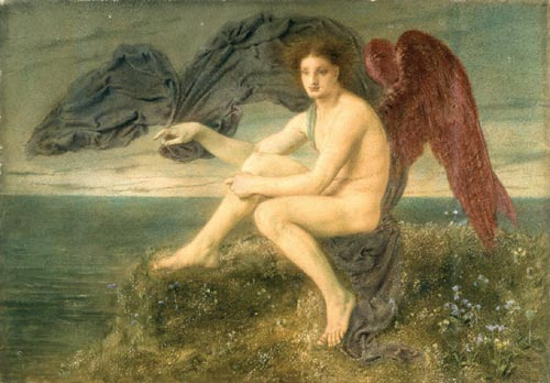 Simeon Solomon. <em>Dawn</em>, 1871 c. Birmingham Museum and Art