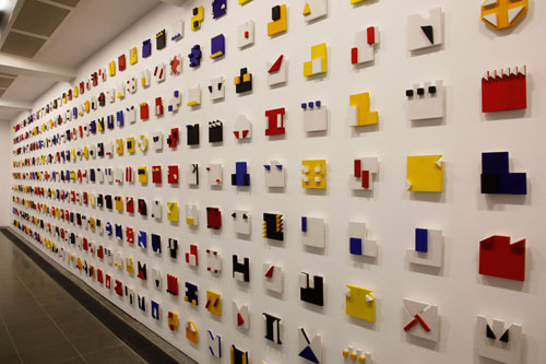 Lygia Pape. <em>Livro do Tempo (Book of Time)</em> 1961–63. Installation view. © 2011 Jerry Hardman-Jones.