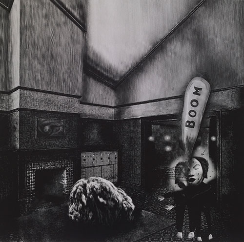 David Lynch. Interior #1. © David Lynch. Courtesy Galerie Item, Paris.