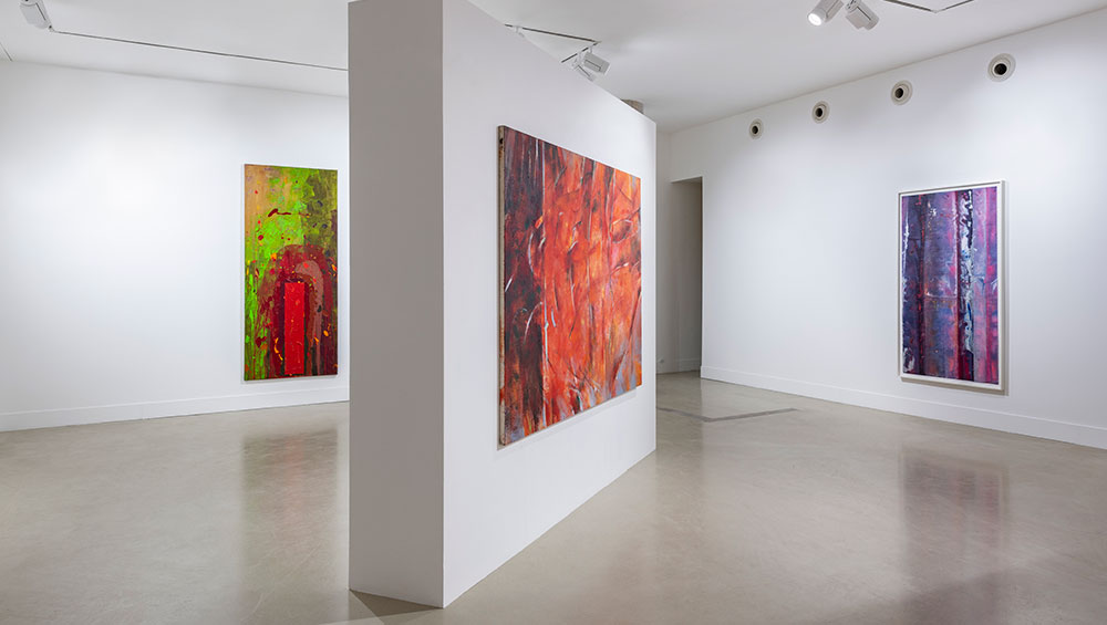 Through the works of Frank Bowling, John Hoyland, Reginald Sylvester II, John Golding and Sam Gilliam, this small group show explores the visceral, emotional, and physical side of their process and the power of their abstract painting