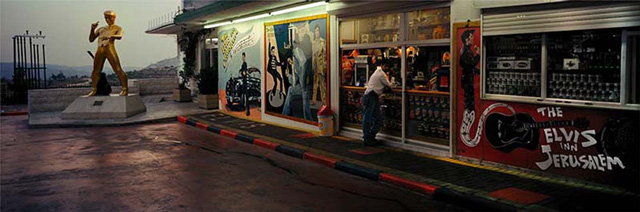 Wim Wenders. Elvis Inn, Jerusalem, 2000, 2015. Courtesy Wim Wenders Foundation and Blain|Southern.