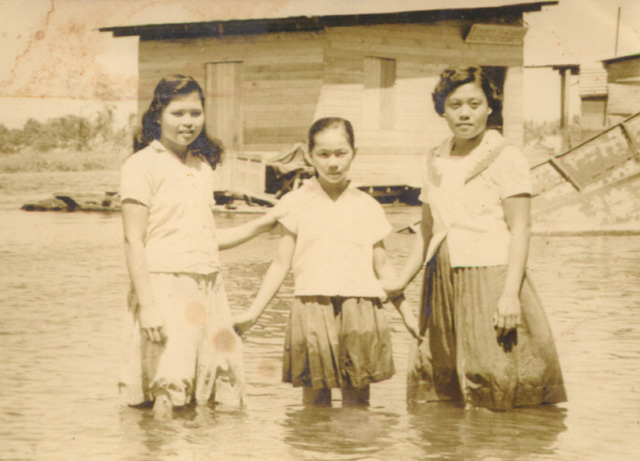Michelle Dizon,The Archive's Fold, Mother in Rio Grande, Cotabato City, c1958.