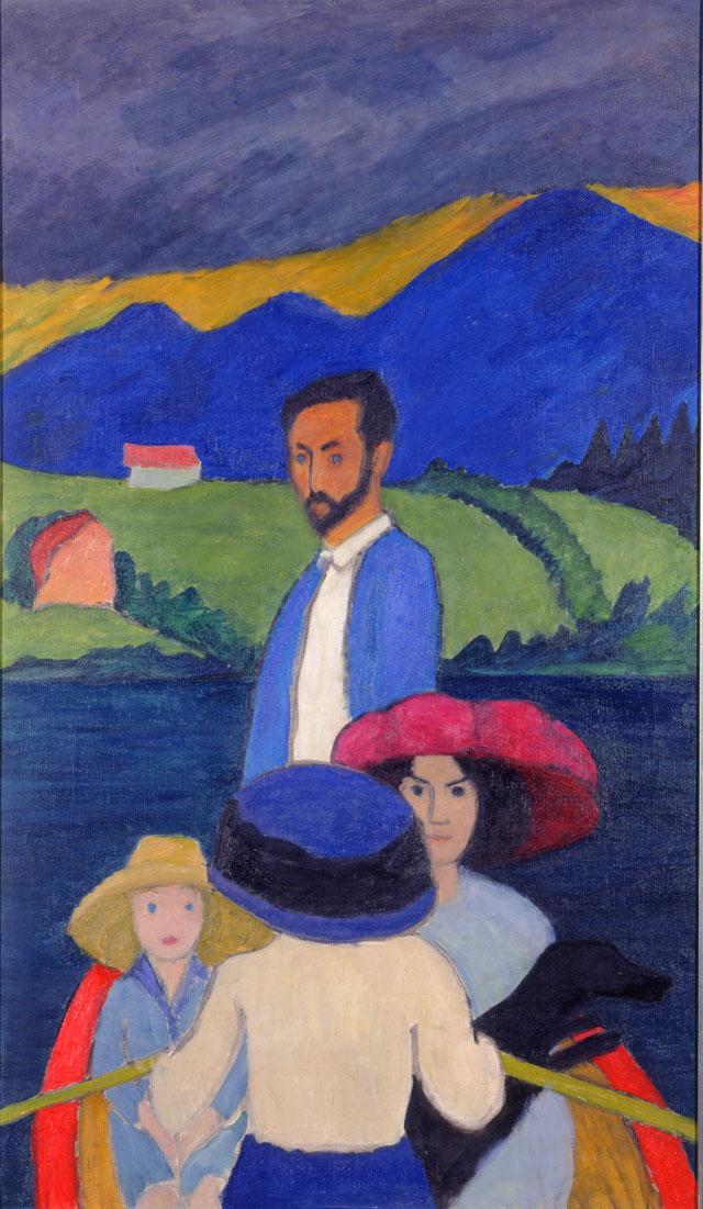 Wassily Kandinsky and Gabriele Munter