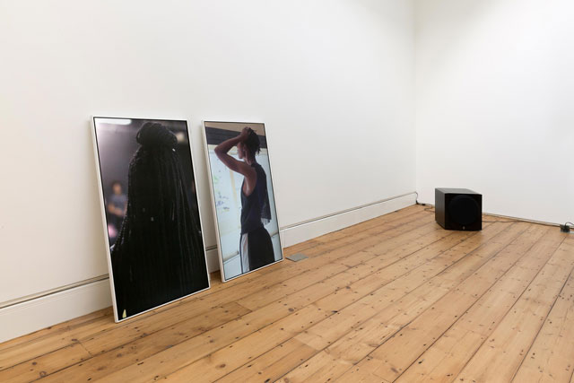 Paul Maheke. Mutual Survival, Lorde's Manifesto, 2015. Installation view, The Approach, London, 2017. Courtesy of the artist.