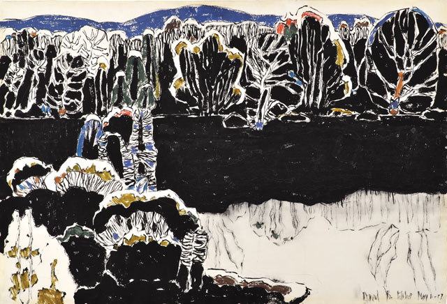 David Milne. Reflected Forms, 1917. Art Gallery of Greater Victoria. Women's Committee Cultural Fund. Photograph: © Art Gallery of Greater Victoria. © The Estate of David Milne.