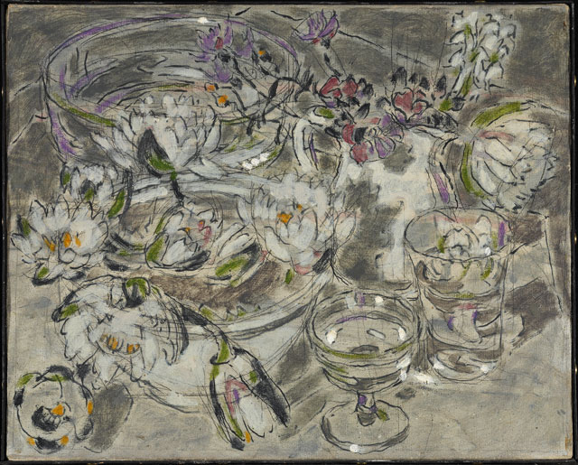 David Milne. Sparkle of Glass, 1926 or 1927. National Gallery of Canada, Ottawa. Vincent Massey Bequest, 1968. Photograph: NGC. © The Estate of David Milne.