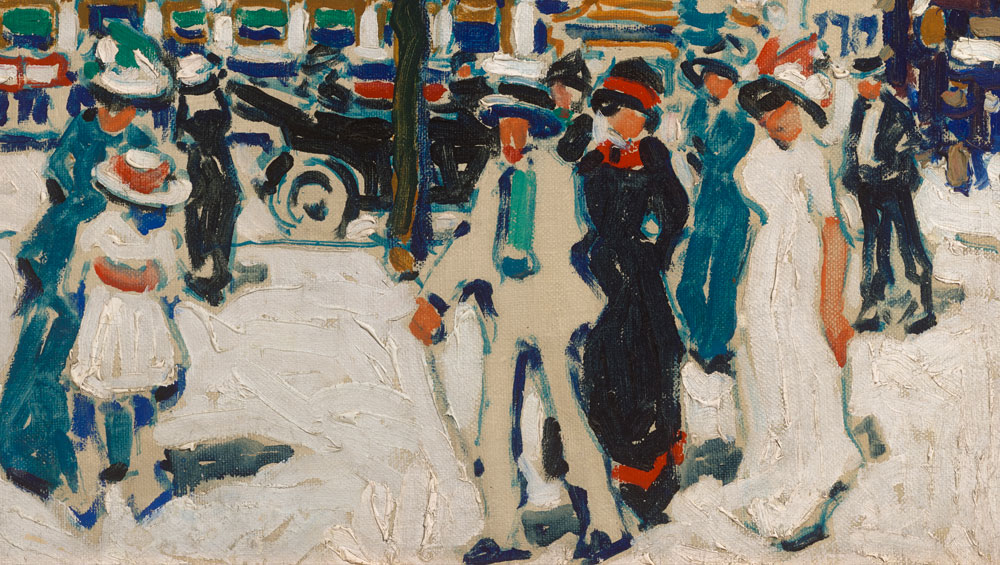 An exhibition of work by the Canadian painter David Milne charts his progression from depictions of New York city scenes to the battlefields of France and Belgium back to the rural US and Canada, influenced on the way by European painters such as Cézanne, Matisse and Brâncuși