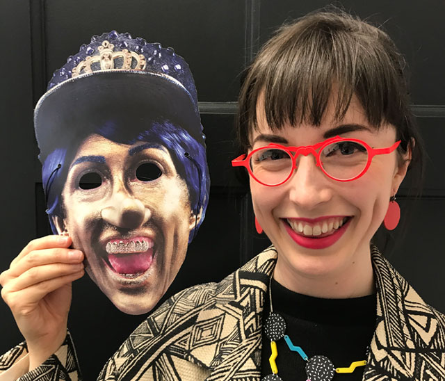 Rachel Maclean talks to Studio International about representing Scotland at the Venice Biennale with her new film, a dark fairytale titled Spite Your Face. Photograph: Martin Kennedy.