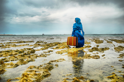 Lateefa bint Maktoum. The Last Look, 2009. Archival print, 100 x 150 cm. Courtesy of the artist.