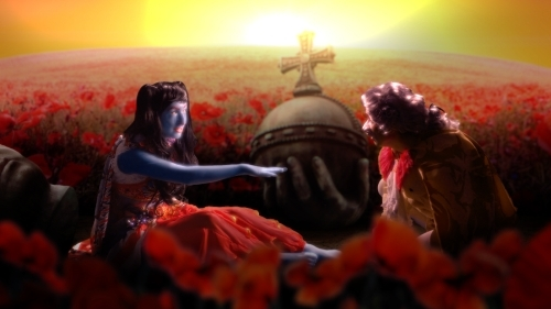 Rachel Maclean, Still from A Whole New World, 2014, Digital Video, 30mins, Commissioned for the Margaret Tait Award 2013 in conjunction with Glasgow Film Festival, Creative Scotland and LUX