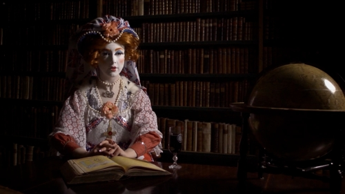 Rachel Maclean, Still from The Lion and The Unicorn, 2012, Digital Video, 12mins, Commissioned by Edinburgh Printmakers for Year of Creative Scotland