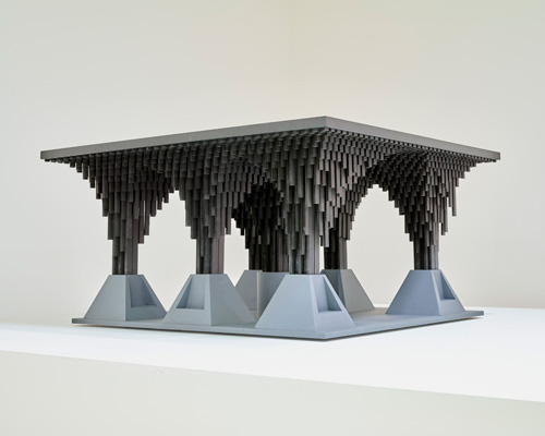 David Adjaye. Model of First Post-Apartheid Station for Johnnesburg.