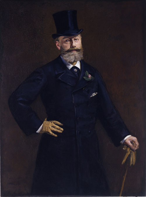 Edouard Manet. Portrait of M. Antonin Proust, 1880. Oil on canvas, 129.5 x 95.9 cm. Lent by the Toledo Museum of Art; Gift of Edward Drummond Libbey. Photograph: Photography Incorporated, Toledo.