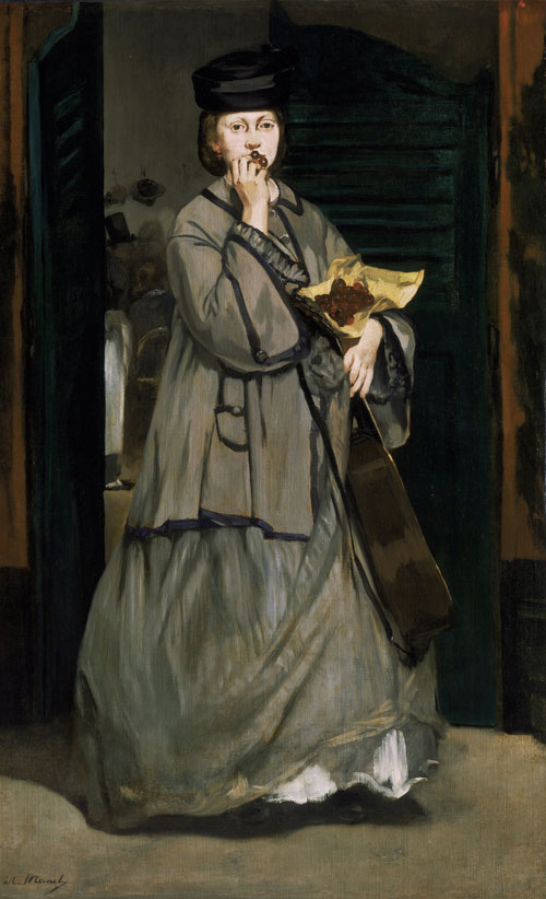 Edouard Manet. Street Singer, c1862. Oil on canvas, 171.1 x 105.8 cm. Museum of Fine Arts, Boston. Bequest of Sarah Choate Sears in memory of her husband, Joshua Montgomery Sears. Photograph courtesy Museum of Fine Arts, Boston.