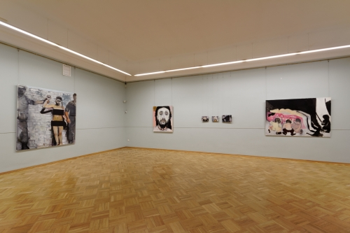 Marlene Dumas. Installation view, MANIFESTA 10, Winter Palace, State Hermitage Museum. This presentation has been made possible with financial support from the Mondriaan Fund and Wilhelmina E. Jansen Fund.