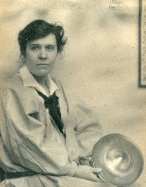 Helen Lohmann. <em>Marie Zimmermann,</em> 1914. Silver gelatin print. Private collection. Used by permission.
