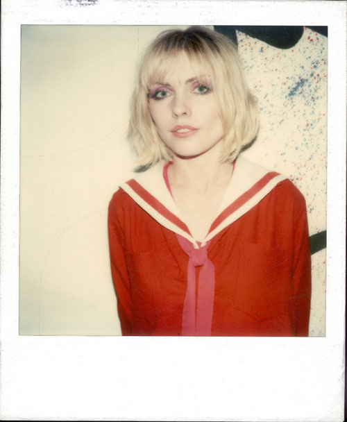 Maripol. Debbie Harry in the Loft, 1980. Polaroid. © Maripol, all rights reserved.