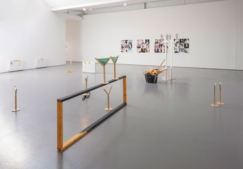 Spring Summer 2015, installation view (4). Photograph: Ruth Clark, courtesy of Dundee Contemporary Arts.