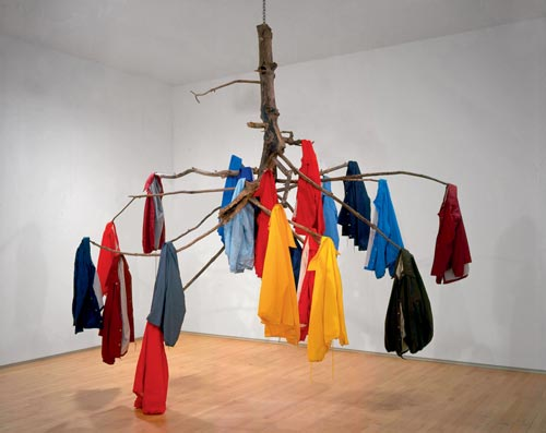 Jay Heikes. <em>The Family Tree, </em>2003. Courtesy the artist, Marianne Boesky Gallery, New York and Shane Campbell Gallery, Chicago