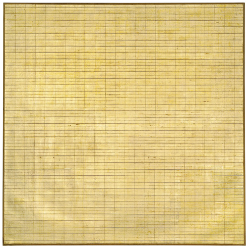 Agnes Martin. Friendship, 1963. Museum of Modern Art, New York. © 2015 Agnes Martin / Artists Rights Society (ARS), New York.