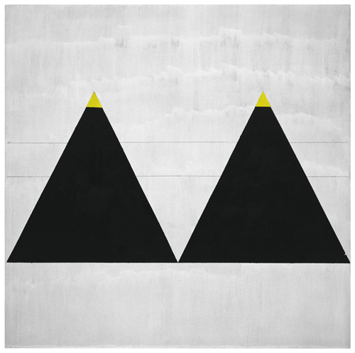Agnes Martin. Untitled #1, 2003. Fondation Louis Vuitton, Paris. © 2015 Agnes Martin / Artists Rights Society (ARS), New York.