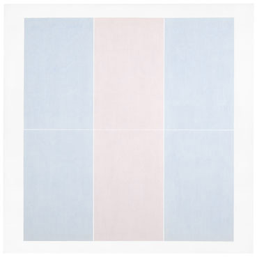 Agnes Martin. Untitled #3, 1974. Des Moines Art Center, Iowa, USA. © 2015 Agnes Martin / Artists Rights Society (ARS), New York.