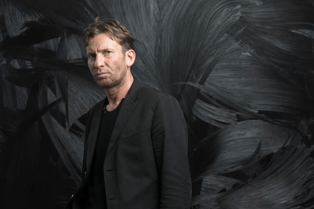 Portrait of Jason Martin. Photograph: Calvin Sit. © Jason Martin; Courtesy Lisson Gallery.