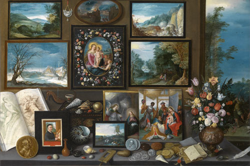 Frans Francken II. <em>Art Room</em>. © Lukas–Arts in Flanders VZW, Royal Museum of Fine Arts Antwerp.