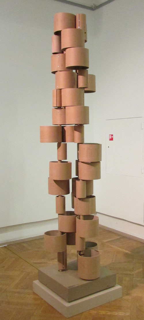 Vladimir Govorkov. Mechanism of Big Politics, 2014. Cardboard, motor.