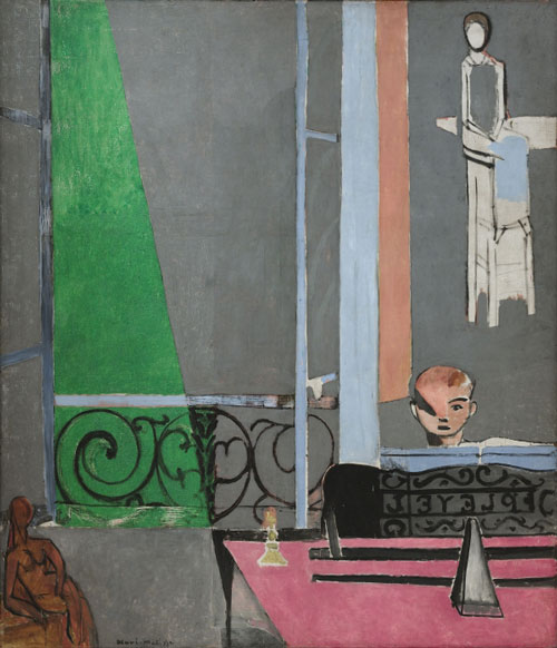 Henri Matisse. <em>The Piano Lesson</em>, 1916. Oil on canvas, 96½ x 83¾ inches (245.1 x 212.7 cm). The Museum of Modern Art, New York. Mrs Simon Guggenheim Fund. © 2010 Succession H. Matisse/Artists Rights Society (ARS), New York.