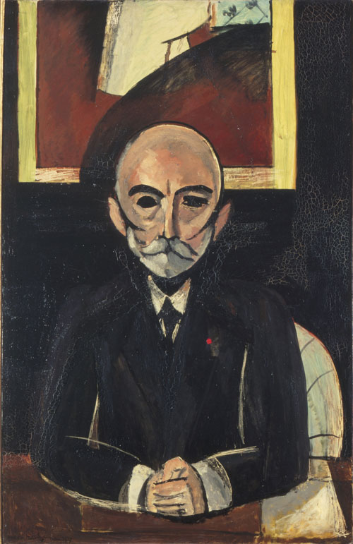 Henri Matisse. <em>Portrait of Auguste Pellerin (II),</em> 1917. Oil on canvas, 59 x 37⅞ inches (150.2 x 96.2 cm). Mus
