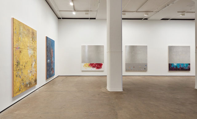 Installation view of Hugo McCloud: Veiled at Sean Kelly, New York, 10 December 2016 – 21 January 2017. Photograph: Jason Wyche, New York. Courtesy: Sean Kelly, New York.