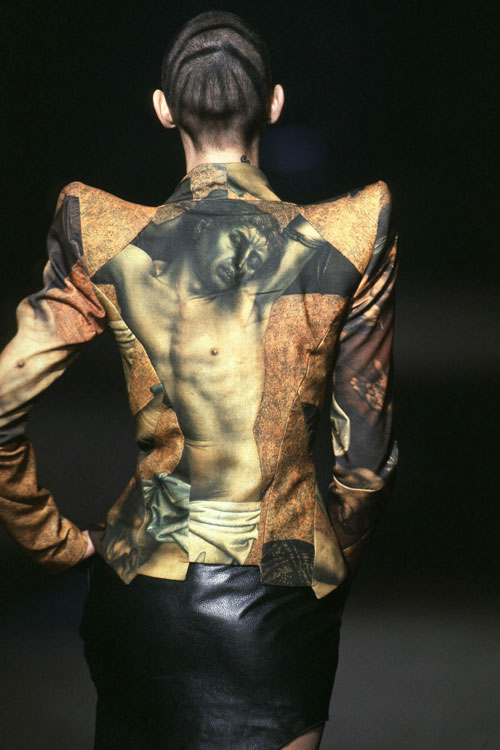 Alexander McQueen. Jacket. It's a Jungle out there, A/W 1997-8. Image: firstVIEW.
