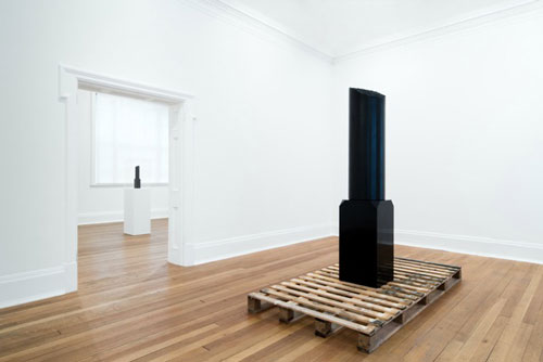 Steve McQueen. Broken Column, 2014. Installation view. Photograph: courtesy Thomas Dane Gallery, London.