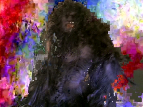 Takeshi Murata. Monster Movie, 2005. Single-channel video, (colour, sound); 04:19 minutes, Smithsonian American Art Museum, Museum purchase through the Luisita L. and Franz H. Denghausen Endowment. © 2005 Takeshi Murata.