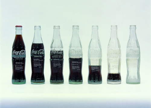 Coca cola bottle insertion