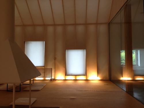 Memu (interior view), 2011. Designed by Kengo Kuma and Associates.