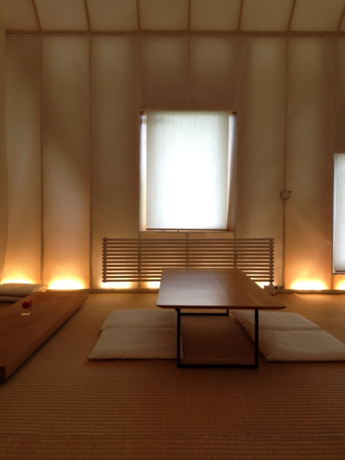 Memu (interior view 3), 2011. Designed by Kengo Kuma and Associates.