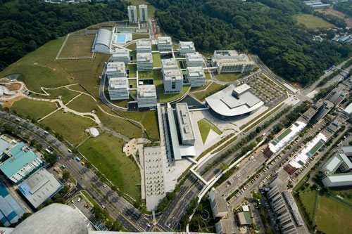 Maki Fumihiko. Republic Polytechnic Campus, Singapore, 2007. Courtesy: Maki and Associates.