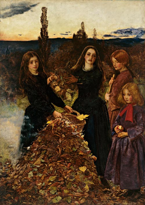 Millais, John Everett. <em>Autumn Leaves,</em> 1855&ndash;1856. Courtesy of Manchester City Galleries