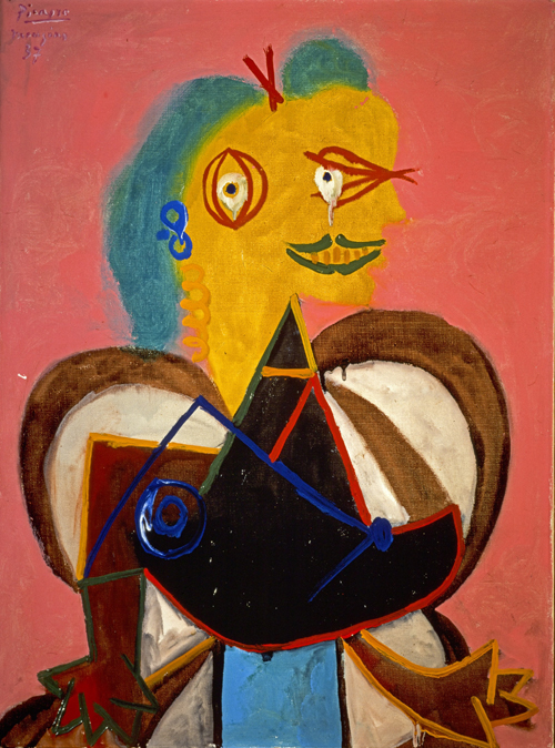 Pablo Picasso. Lee Miller, 1937. Oil on canvas, 81 x 60 cm. Private collection © Succession Picasso/DACS, London 2015.
