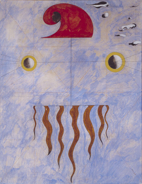 Joan Miró.<em> Head of a Catalan Peasant</em>, 1925. Oil on canvas, 118.7 x 99.9 cm. Tate. © Succession Miro/ADAGP, Paris and DACS, London