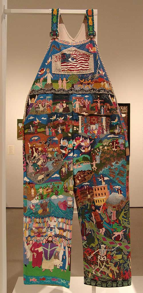 Jas Johns (1941-2003), Heaven and Hell Britches, 2000-2002. Acrylic paint 