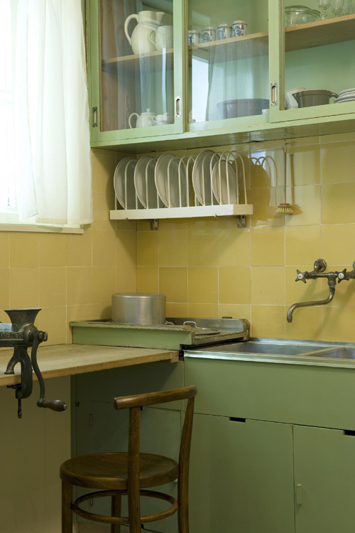 Detail, The Frankfurt Kitchen. PHOTO: Carlo Draisci.