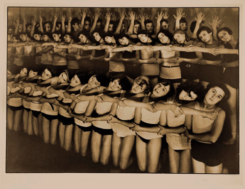 Margaret Bourke-White. <em>Machine Dance, Moscow Ballet School</em>, 1931 &copy; Corkin Shopland Gallery, Toronto