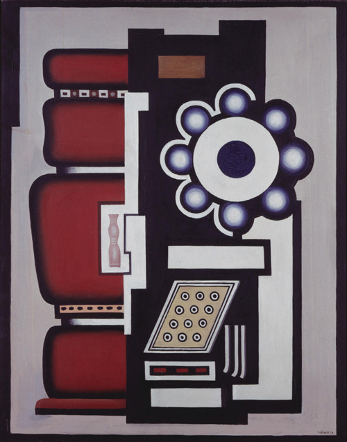 Fernand L&eacute;ger, <em>Ball bearing</em> (<em>Le Mouvement &agrave; Billes</em>), 1926. Modernism: Designing a New World, 1914-1939 at the V&amp;A, 6 April-23 July 2006.
