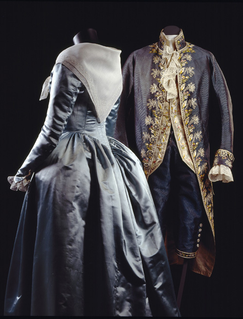 'Habit à la française', three-piece set of coat, waistcoat 