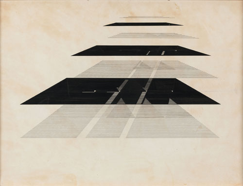 Nasreen Mohamedi. Untitled. © Courtesy Chatterjee & Lal.
