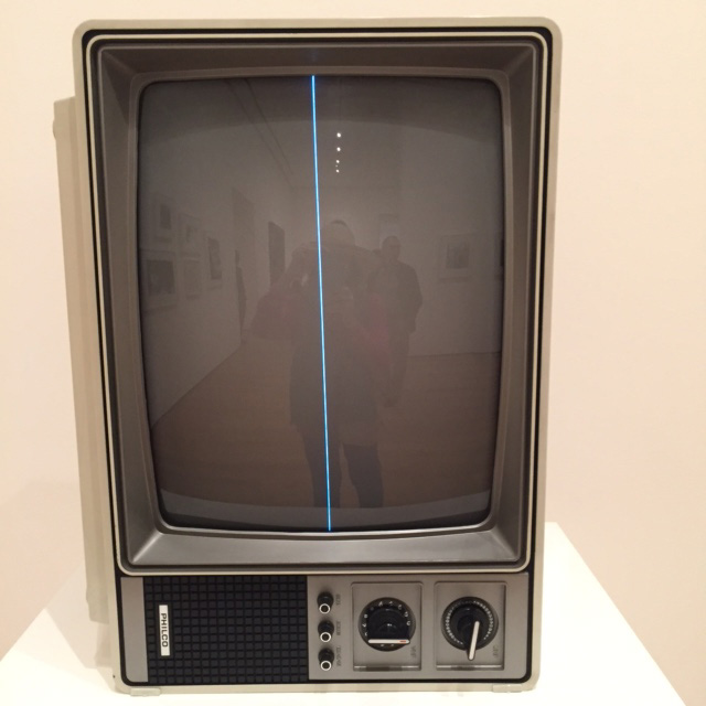 Nam June Paik. Zen for TV, 1963. Altered television set, overall: 22 13/16 x 16 15/16 x 14 3/16 in (58 x 43 x 36 cm). The Museum of Modern Art, New York. The Gilbert and Lila Silverman Fluxus Collection Gift. © 2016 Nam June Paik. Photograph: Jill Spalding.